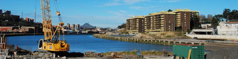El Ayuntamiento prorroga en tres meses las obras de la apertura del canal de Deusto